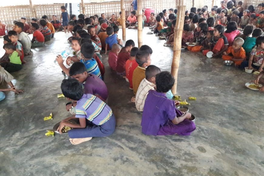 Support for Rohingya's Orphans
