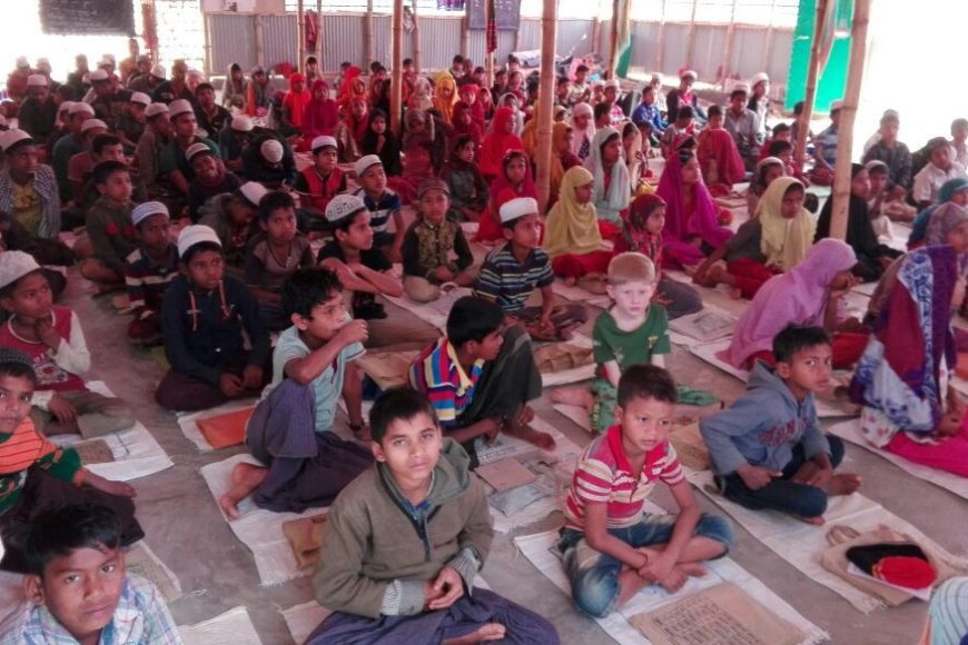 Support for Rohingya's Students