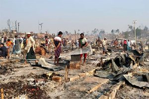 MASSIVE FIRE IN ROHINGYA CAMPS EMERGENCY FUNDRAISING